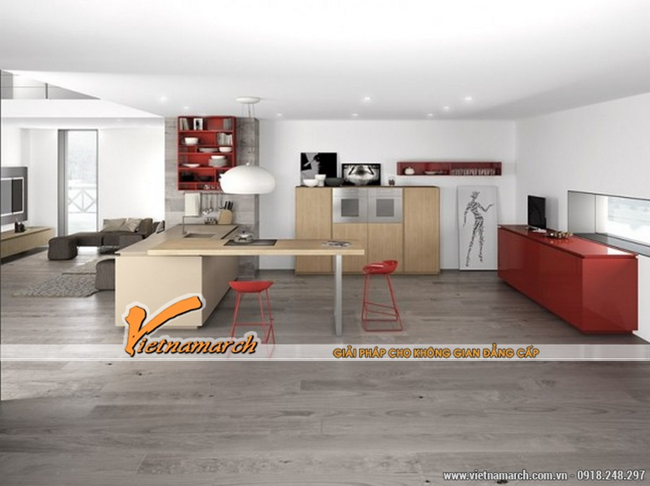 Thiết kế theo phong cách tối giản sẽ khiến cho ngôi nhà của bạn trở nên thoáng đãng và hiện đại hơn
