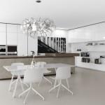 Thiết kế nội thất nhà bếp theo phong cách tối giản – xu hướng mới cho nhà lô phố, nhà ống