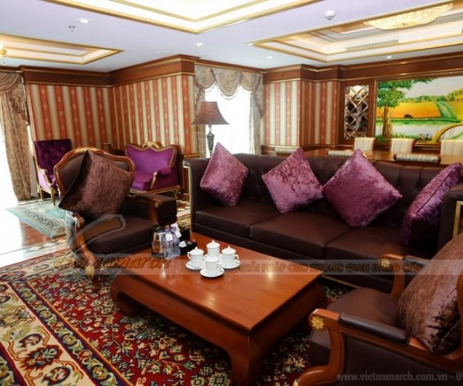 Thiết kế phòng Tổng thống trong khách sạn 5 sao tại Hà Nội