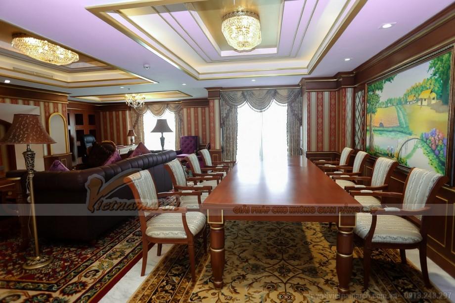 Thiết kế nội thất phòng tổng thống