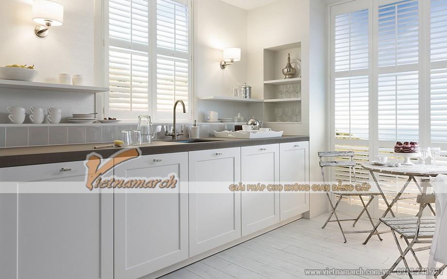 Tủ bếp SieMatic dòng Classic nhẹ nhàng tinh tế