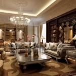 4 mẫu trần thạch cao cổ điển phòng khách đẹp nhất 2016 khiến bạn bè của bạn phải xuýt xoa