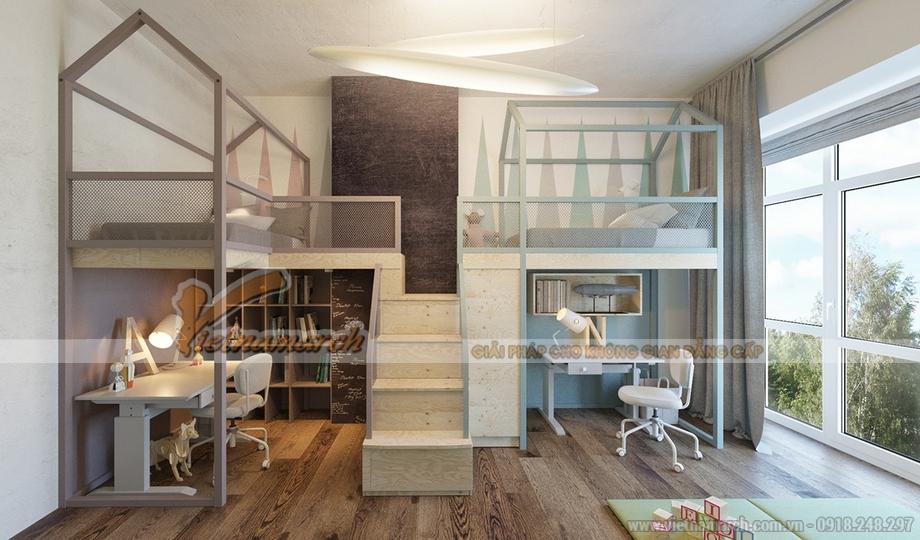 Mẫu trần thạch cao cho căn hộ chung cư - 01