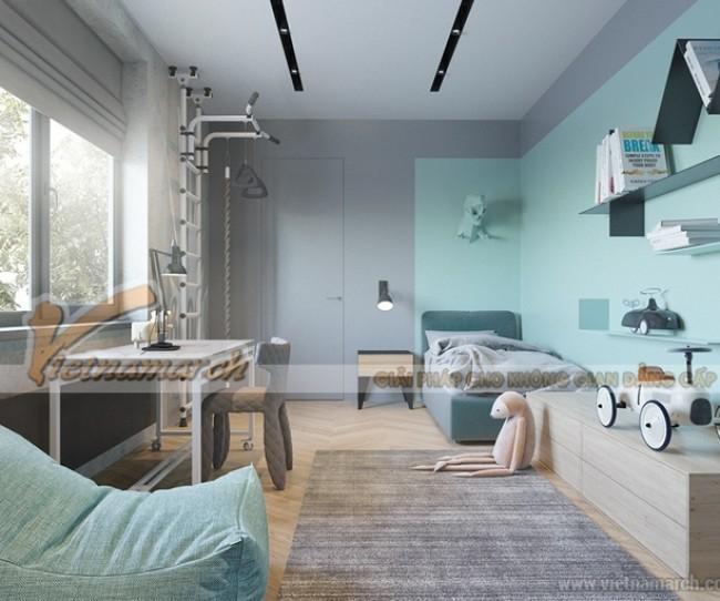 Giúp trẻ thông minh hơn nhờ thiết kế nội thất phòng ngủ sáng tạo