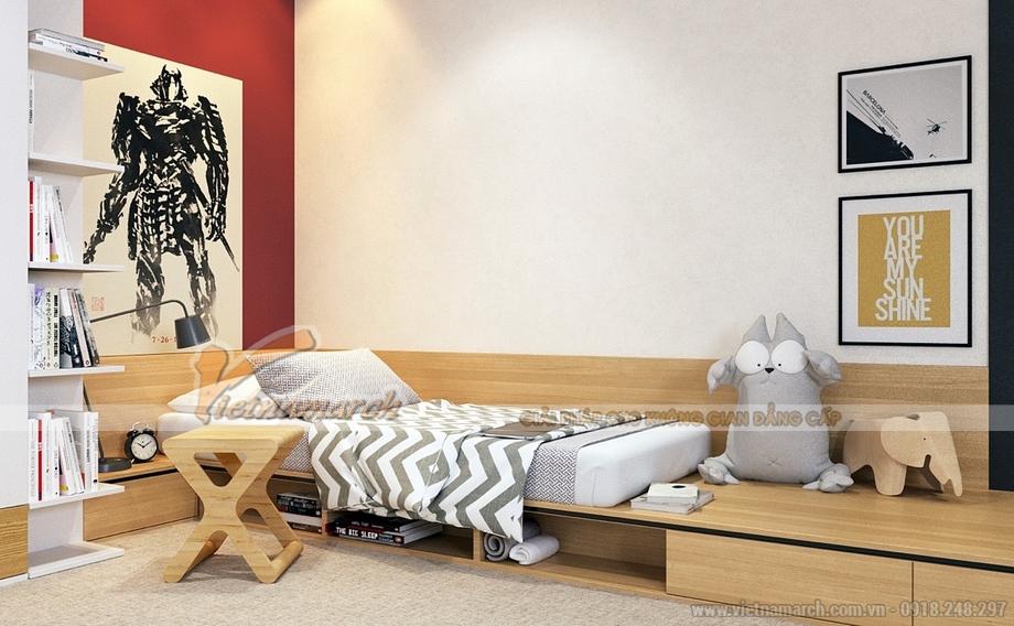 Phòng ngủ khám phá sáng tạo