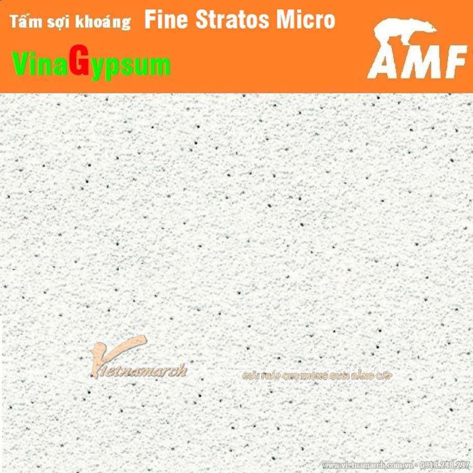 Tấm sợi khoáng AMF Fine Stratos Micro ngoài đời thực