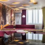 5 hình mẫu trần thạch cao hiện đại cho phòng khách nhỏ siêu đẹp 2016