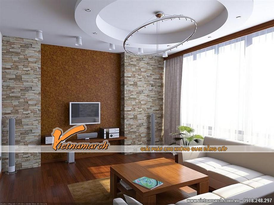 5 mẫu trần thạch cao hiện đại cho phòng khách nhỏ siêu đẹp 2016 03