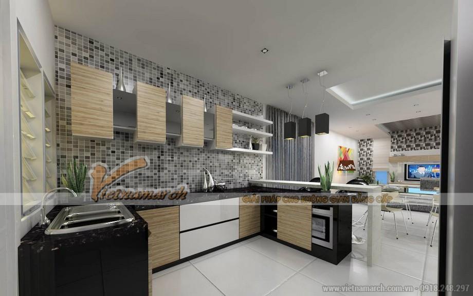 Thiết kế mẫu trần thạch cao hiện đại cho căn biệt thự nhà anh Trung - Hà Nam - 04