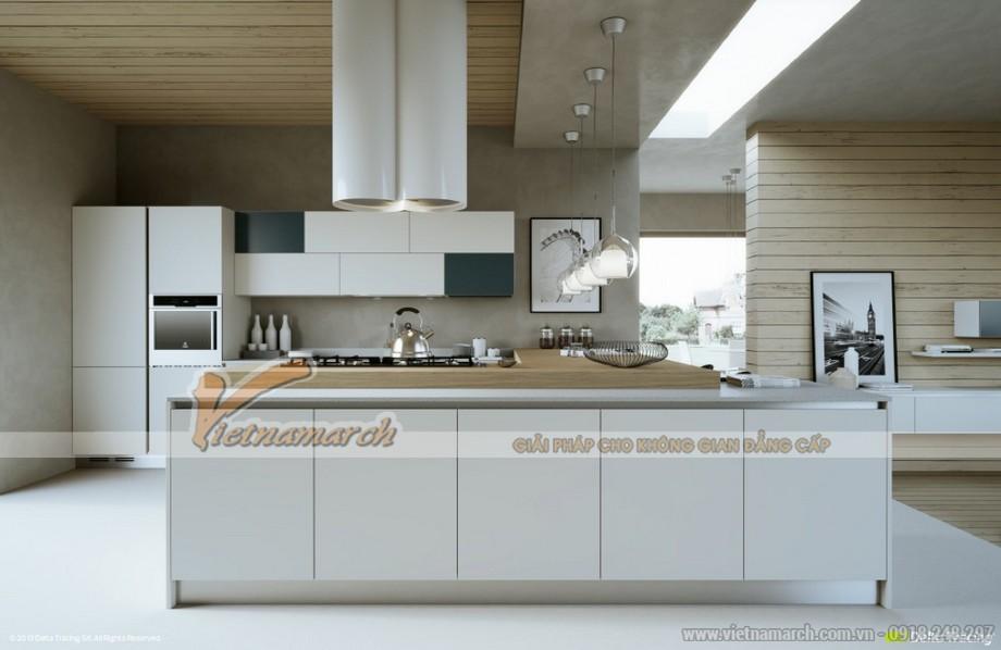 Thiết kế mẫu trần thạch cao hiện đại cho nhà anh Hưng- Phú Thọ-02