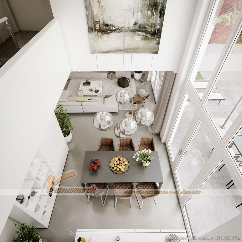 Thiết kế mẫu trần thạch cao hiện đại tuyệt đẹp cho căn hộ cao cấp của anh Tú- Thái Bình-03
