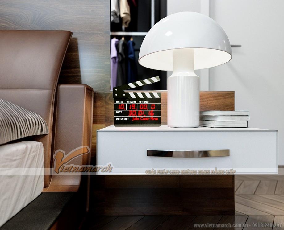 Thiết kế mẫu trần thạch cao hiện đại tuyệt đẹp cho căn hộ cao cấp của anh Tú- Thái Bình-06