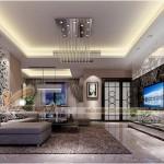 Thiết kế mẫu trần thạch cao đẹp lung linh cho nhà anh Toàn – Hưng Yên