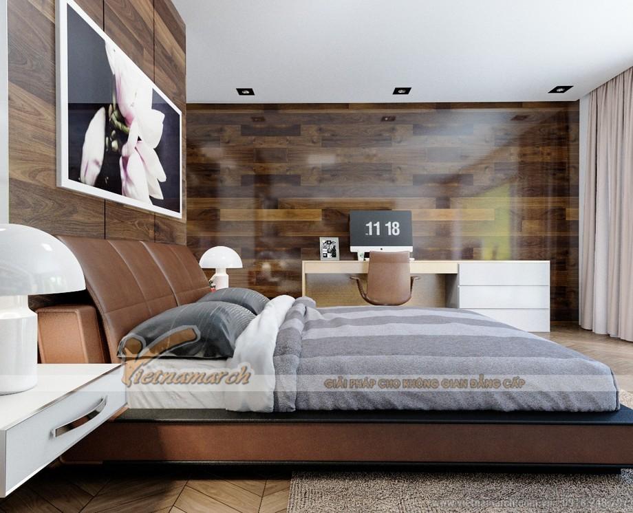 Thiết kế mẫu trần thạch cao hiện đại tuyệt đẹp cho căn hộ cao cấp của anh Tú- Thái Bình-05