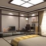 Thiết kế thi công trần thạch cao chống ồn nhà chị Thủy – Căn hộ Park hill Times City Hà Nội