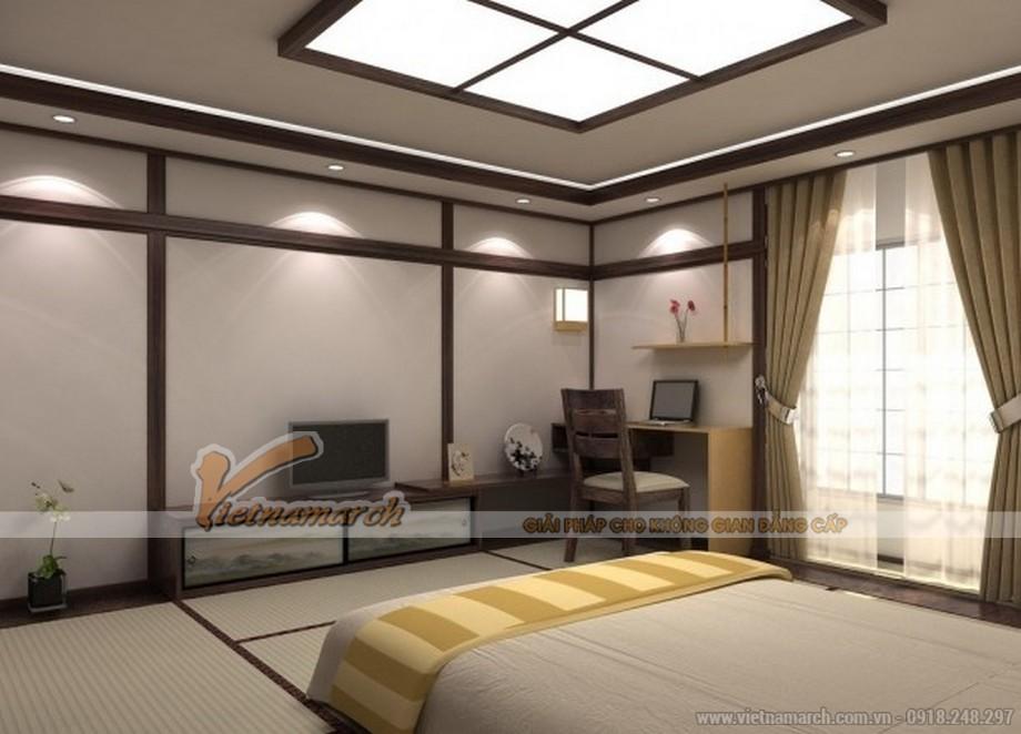 Thiết kế mẫu trần thạch cao hiện đại cho căn biệt thự nhà anh Trung - Hà Nam - 06