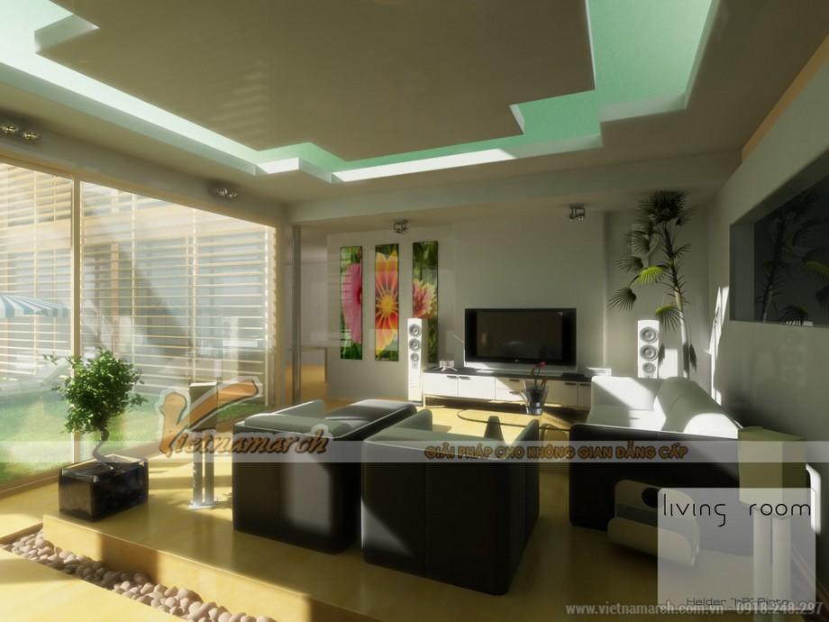Những mẫu trần thạch cao siêu đẹp của căn hộ goldmark city 2016-03