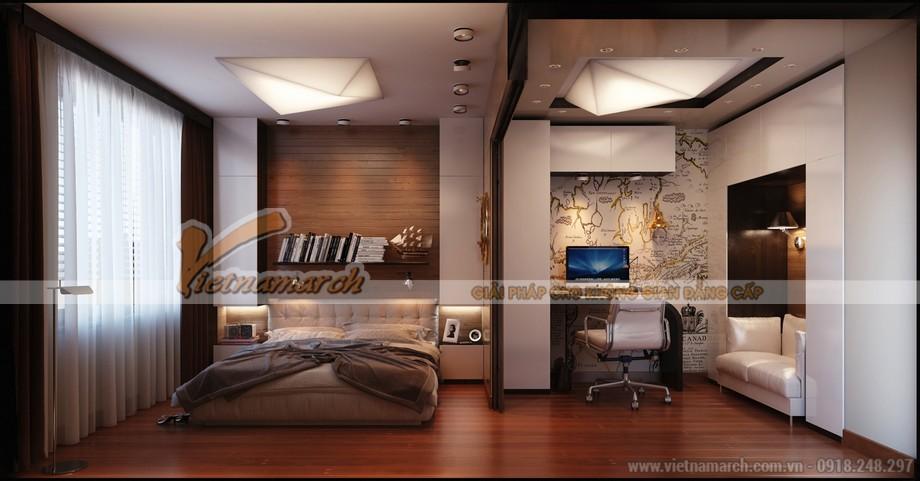 Thiết kế trần thạch cao hiện đại cho nhà bác Năm- Nghệ An-04