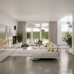 Thiết kế mẫu trần thạch cao hiện đại tuyệt đẹp cho căn hộ cao cấp của anh Tú- Thái Bình