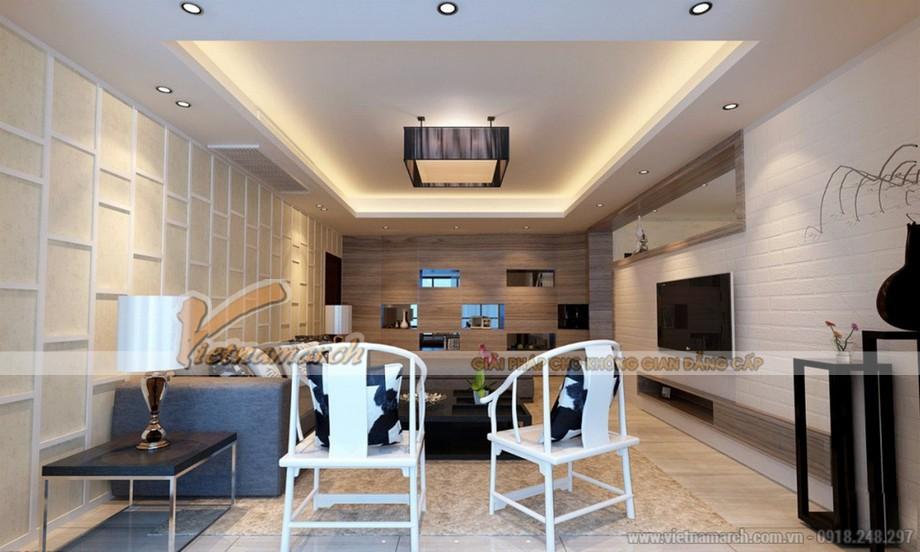 Những mẫu trần thạch cao siêu đẹp của căn hộ goldmark city 2016-05