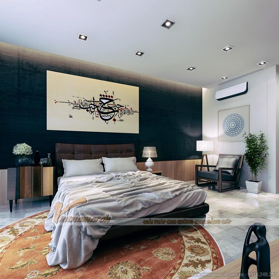 4 Mẫu trần thạch cao đẹp tê tái cho phòng ngủ tại căn hộ chung cư Times City Park Hill 2016-04
