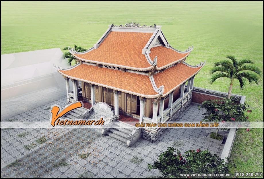 Bản thiết kế nhà thờ anh Đạt