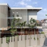 Thiết kế biệt thự xanh mướt trên mảnh đất trũng, méo tại Long Biên – Hà Nội