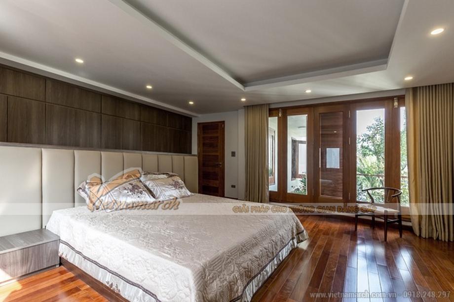 Thiết kế mẫu trần thạch cao hiện đại cho căn biệt thự nhà anh Trung - Hà Nam - 05