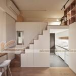 Thiết kế nội thất thông minh biến căn hộ 22m2 có công năng như căn hộ 70m2 dành cho gia đình 4 người