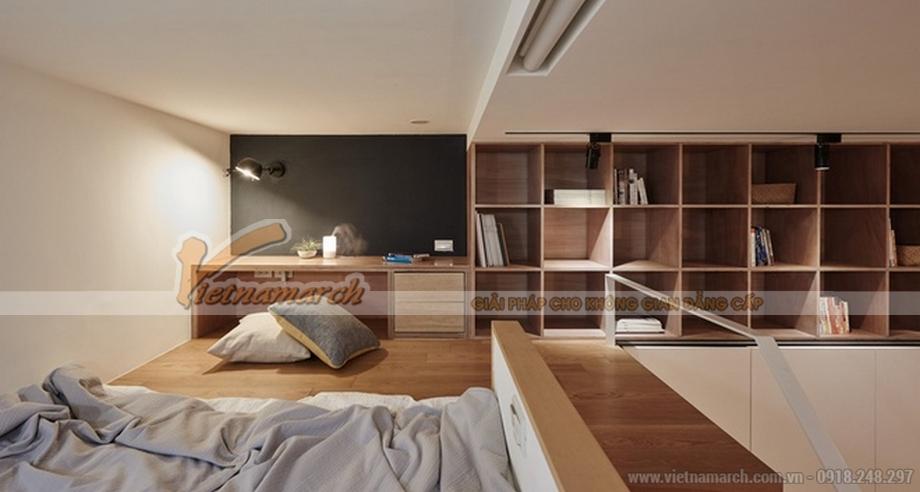 Thiết kế nội thất thông minh trong căn hộ 22m2