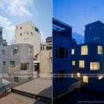 Ngôi nhà có kiến trúc lạ, mang phong cách thiết kế của người Nhật trong hẻm nhỏ tại Sài Gòn