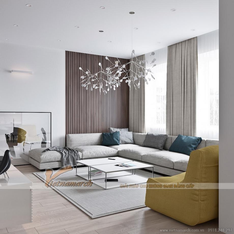 Thiết kế nội thất hiện đại trong căn hộ cao cấpGoldMark City