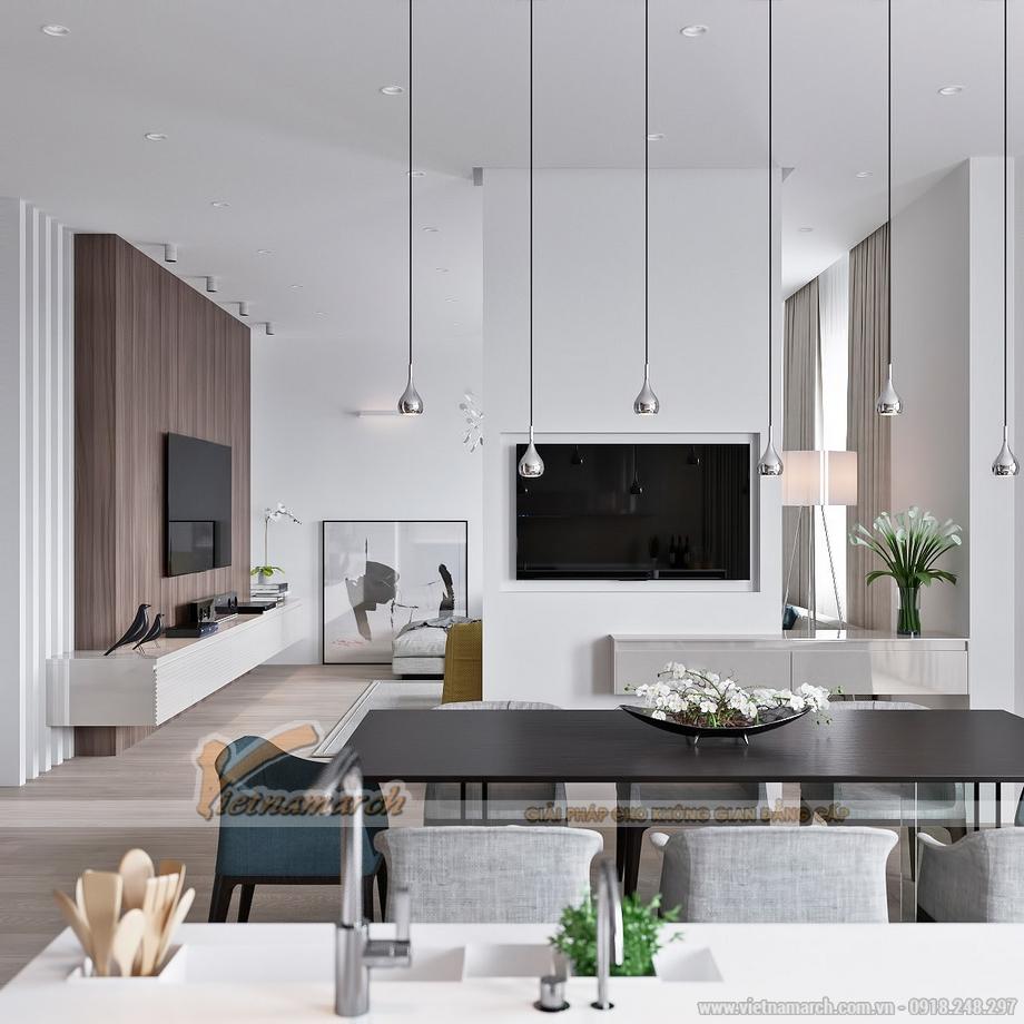 Mẫu trần thạch cao tuyệt đẹp dành cho căn hộ Goldmark City 2016