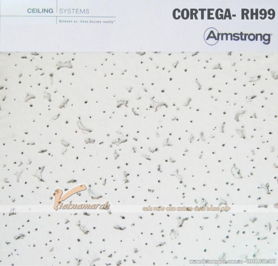 Tấm trần sợi khoáng Cortega RH99 - Armstrong