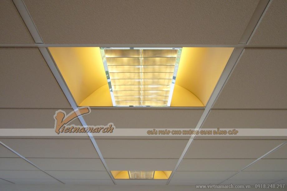 Ứng dụng tấm trần phủ PVC Coral VT2 vào thi công trần thạch cao