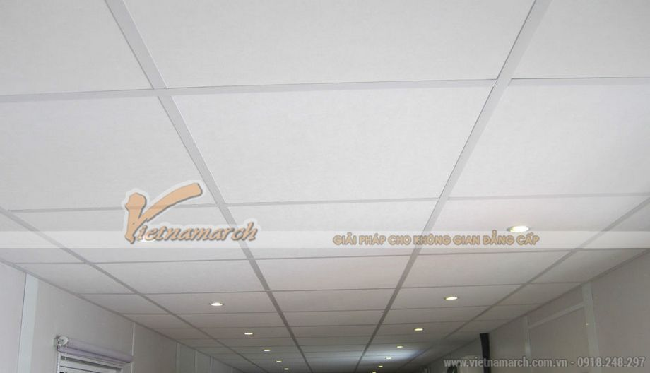 Ứng dụng Tấm thạch cao phủ nhựa PVC Lexus vào công trình.