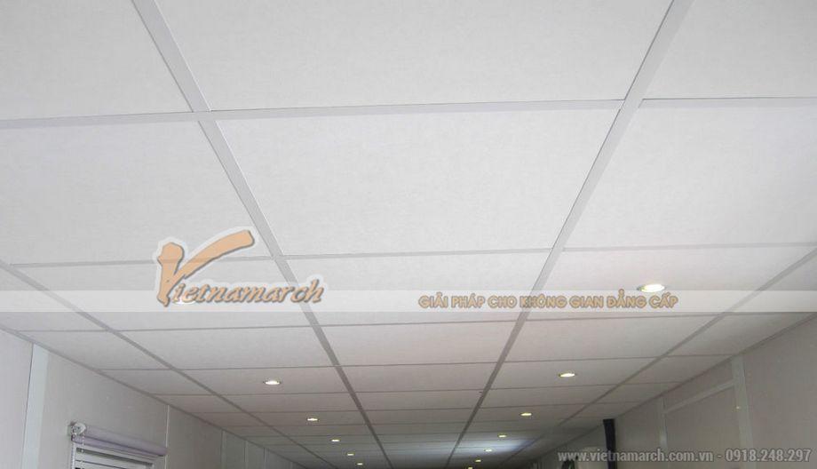 Ứng dụng của tấm trần thạch cao Popcorn vào thi công.