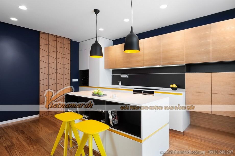 Thiết kế mẫu trần thạch cao siêu ấn tượng cho căn hộ Times City nhà chị Hương - Hà Nội - 05