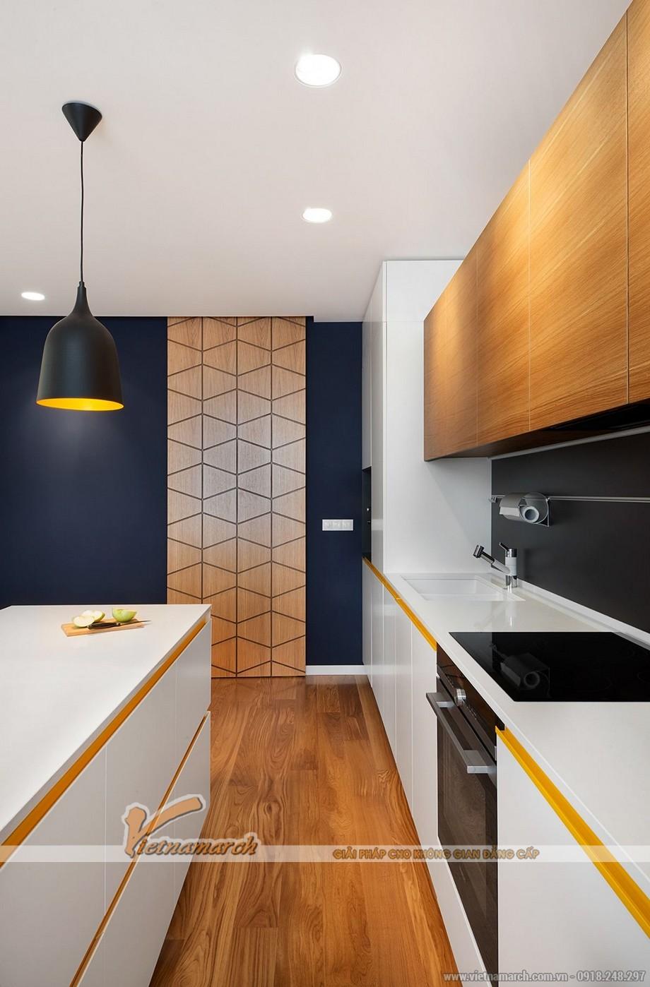 Thiết kế mẫu trần thạch cao siêu ấn tượng cho căn hộ Times City nhà chị Hương - Hà Nội - 07