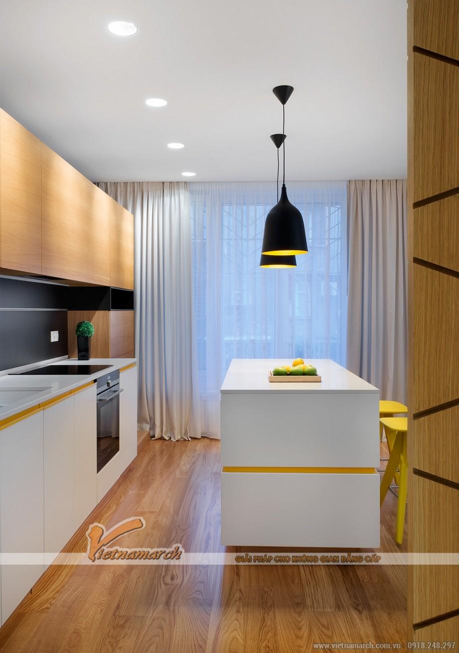 Thiết kế mẫu trần thạch cao siêu ấn tượng cho căn hộ Times City nhà chị Hương - Hà Nội - 09