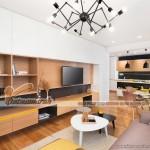 Thiết kế mẫu trần thạch cao siêu ấn tượng cho căn hộ Times City nhà chị Hương – Hà Nội