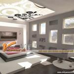 Những mẫu trần thạch cao cho phòng ngủ hiện đại và nổi bật nhất thế giới