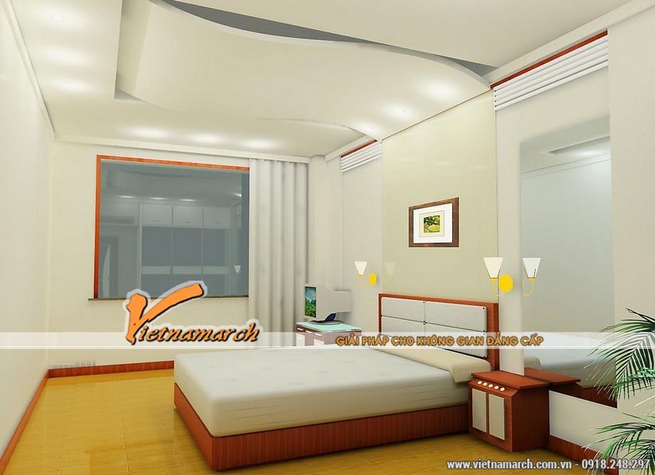 Thiết kế thi công trần thạch cao chống ồn nhà chị Thủy - Căn hộ Park hill Times City Hà Nội