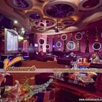 Những gam màu đẹp của các mẫu trần thạch cao hiện đại dùng trong quán Karaoke