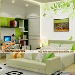 Thiết kế trần thạch cao cho 5 phòng ngủ đơn giản mà không kém phần hiện đại – Anh Bắc – Hà Nội