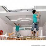 Ý tưởng thiết kế phòng khách chung cư cao cấp bằng trần thạch cao