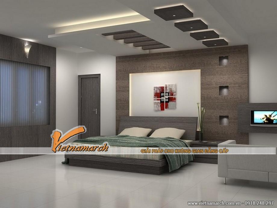4 tính năng ưu việt của trần thạch cao phòng ngủ.