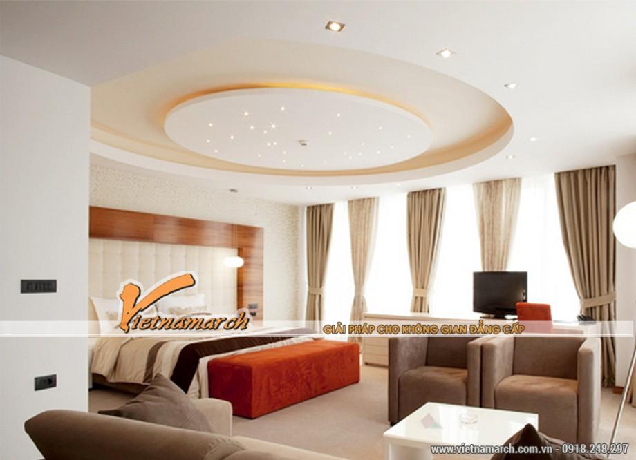 Mẫu trần thạch cao đẹp cho phòng ngủ