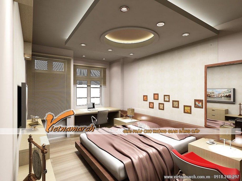 Tại sao nên chọn trần thạch cao cho phòng ngủ ?