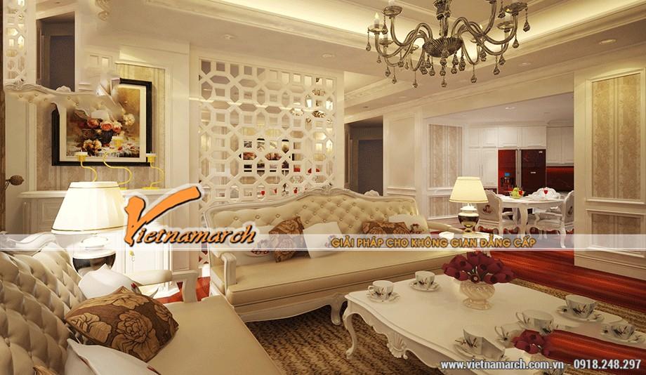 Trần thạch cao phòng khách đẹp và sang trọng